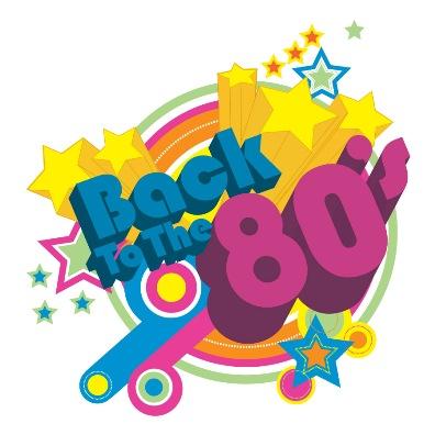 80s Theme Logo