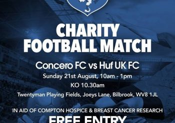 Concero FC – Charity Football Match